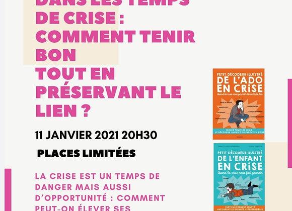 Inscription conférence Janvier 2021
