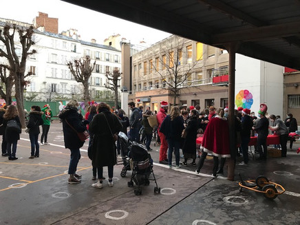 Café des parents en mode Noël