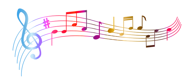 music-notes-colourful-transparent-png-6.