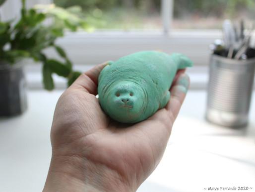 Sculpting Salt Dough Seals