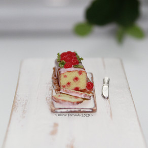 Raspberry Drizzle Cake