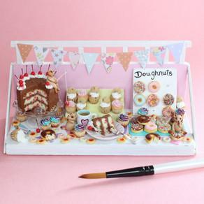 New Mini Cakes, Cake Themed Jewellery & Mouse Mischief Scene