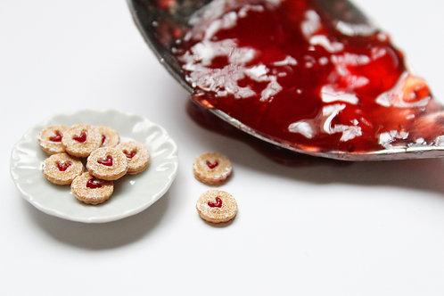 Miniature Linzer Cookies Tutorial