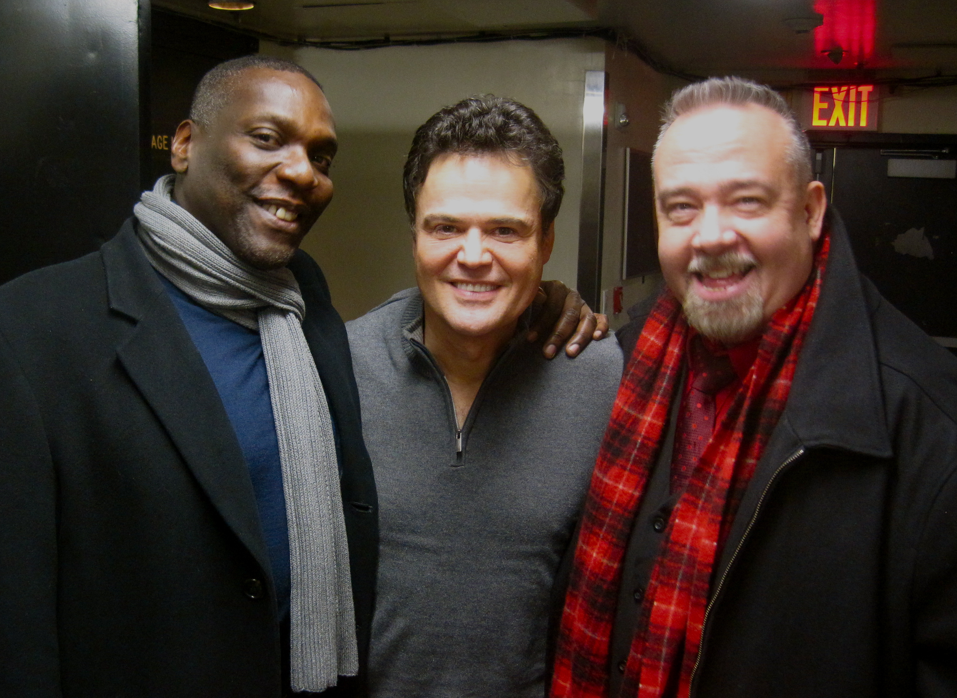 Gerry McIntrye & Donny Osmond