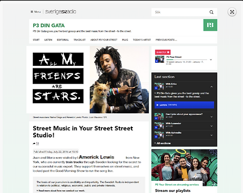 Street Music in Your Street Street Studi