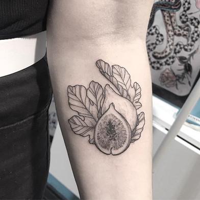 Fig #fruit #fruittattoo #figtattoo #fig