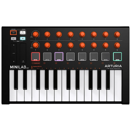Arturia Minilab Mkii SE Orange Edition