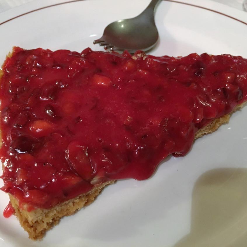 La tarte à la praline rose