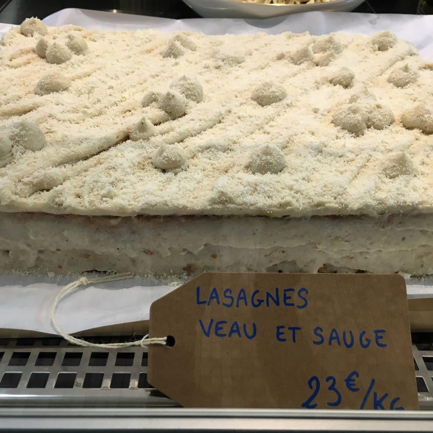 Lasagne de veau