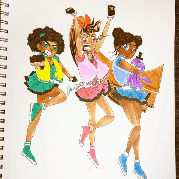 Day 18: Powerpuff Girls