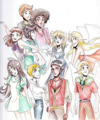 Characters of Tetarra (2020)