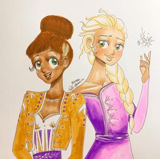 Day 26: Anna & Elsa