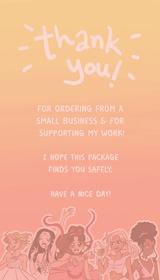 Thank u Cards for Soft Peach Designs (2021)