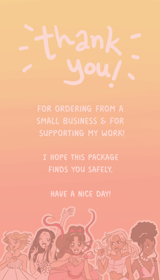 Thank u Cards for Soft Peach Designs (2021)