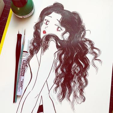 Ink Wash Girl (2021)