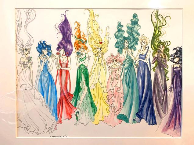 Sailor Princesses Redraw (2020)