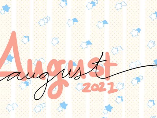 August's Patreon Rewards!