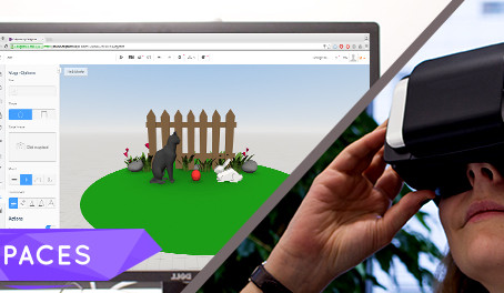 Creating Virtual Reality with CoSpaces
