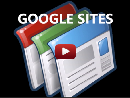 Class Sites with Google Sites