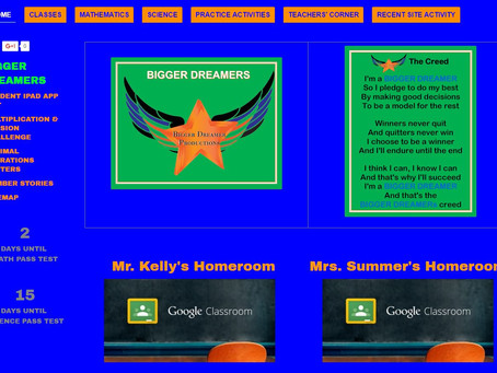 Dreaming BIGGER with Google Sites