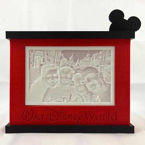Disney Lithopane Box (Your Lithopane Included)