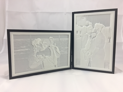 Basic Lithopane Box (Your Lithopane Included)