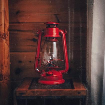 Classic Red Oil Lantern