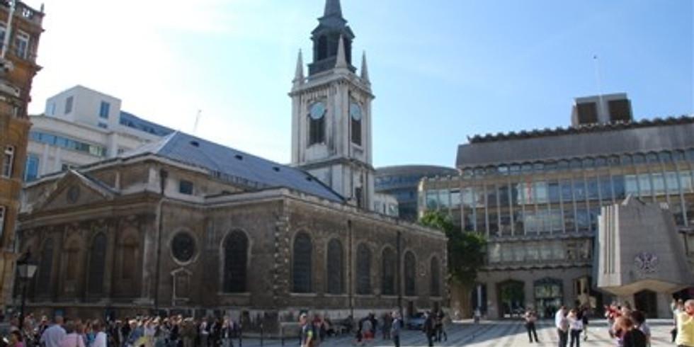 St Lawrence Jewry, London, UK