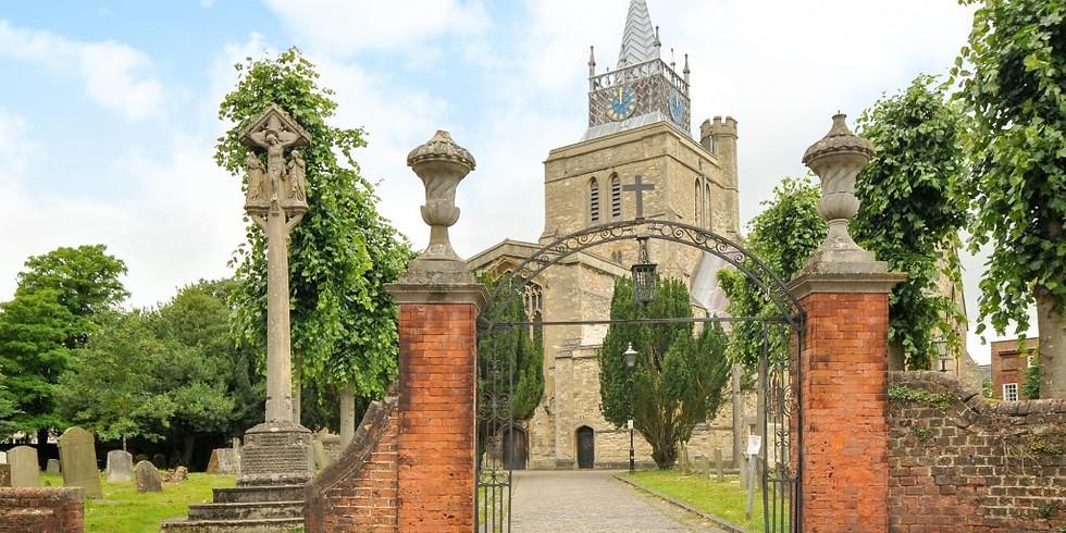 Aylesbury Lunchtime Music, St Mary the Virgin, Aylesbury, UK