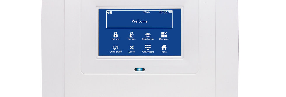 copy of Wireless Alarm System All in One Touch Panel