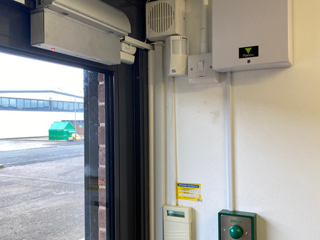 Todays Access Control Install in Nottingham.