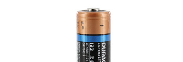 CR 123A 3V Lithium Sensor Battery