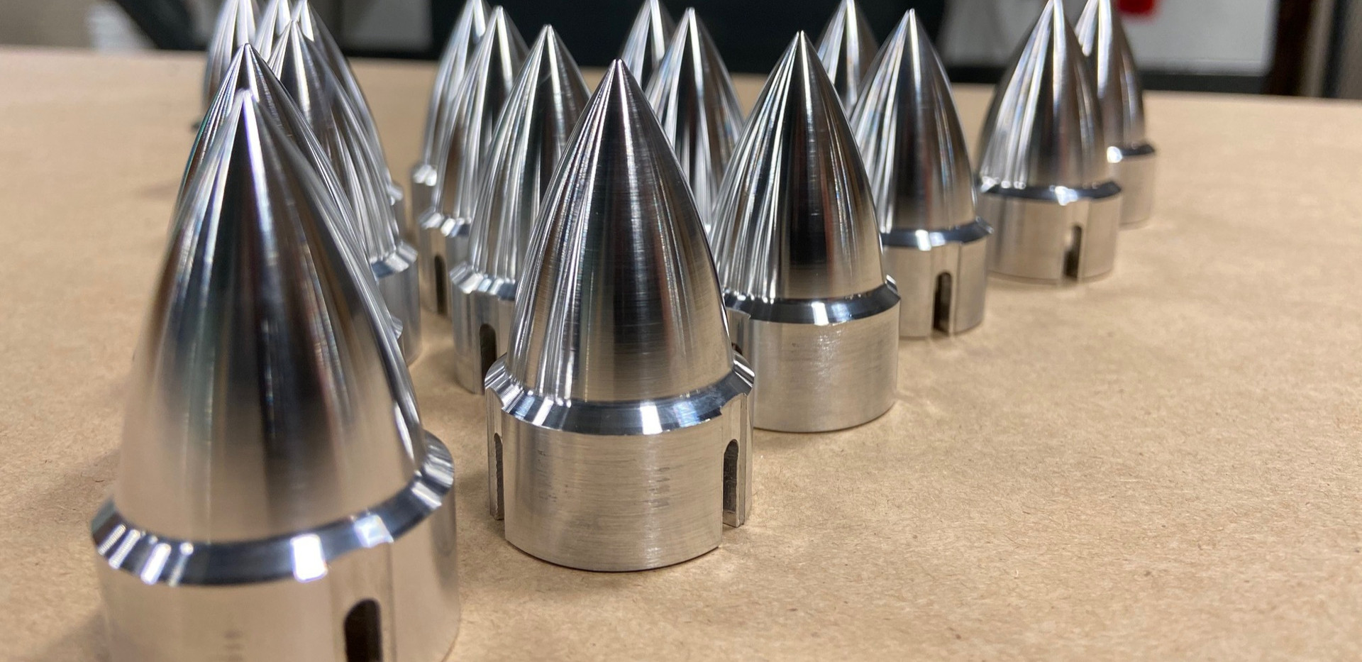 Motorcycle axle spikes