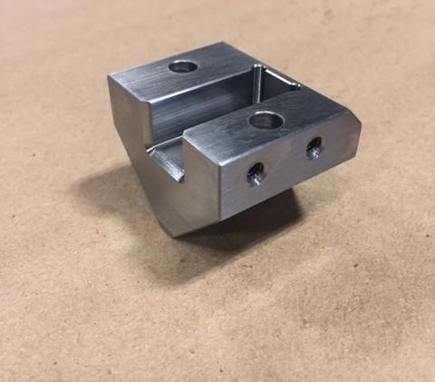 Hardened tool steel die holder