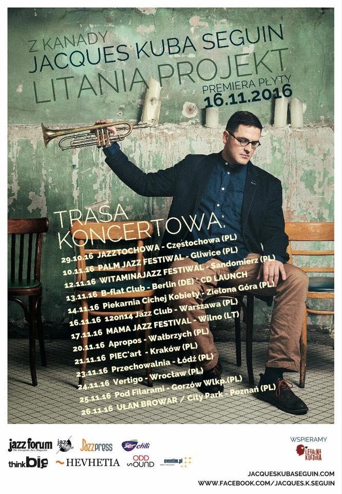 Litania projekt traca koncertowa 11.2016