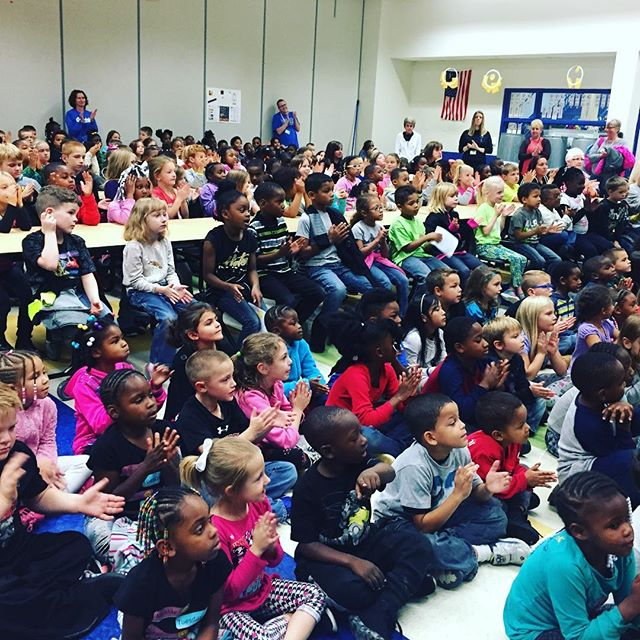 Covedale Elementary is so mindful about music! #mindfulmusicmoments #cincinnatiopera