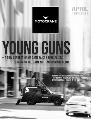 Young Guns — A new generation of camera car specialists changing the game with MotoCrane ULTRA.