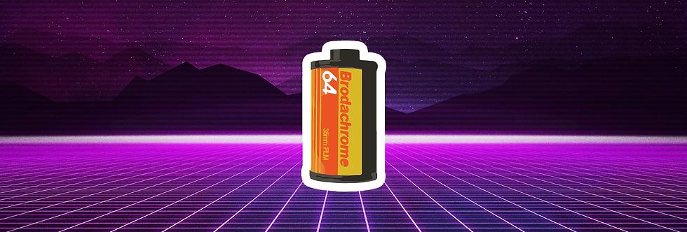Brodak-Brodachrome Can
