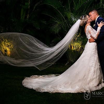 Caroline e Juan