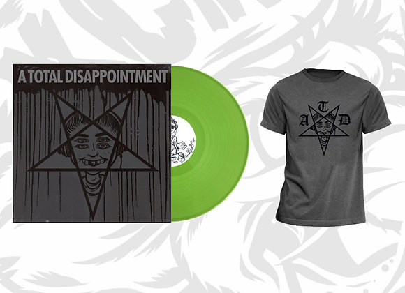 "ATD - A Total Disappointment 12"" Vinyl + T-shirt Combo"