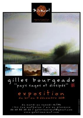 exposition Gilles Bourgeade