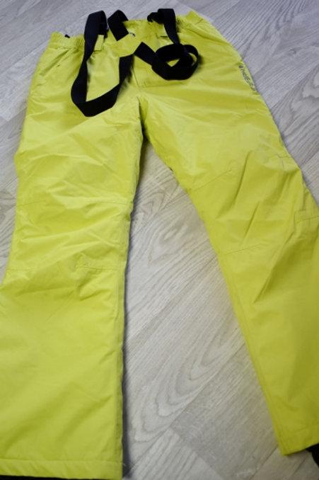 ICEPARK pantalon ski  anis fluo