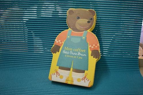 Mon coffret petit ours brun