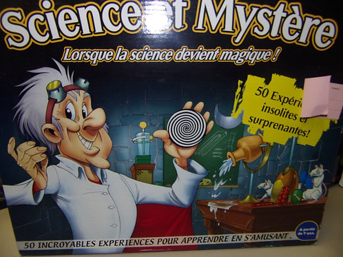 Science et mustère