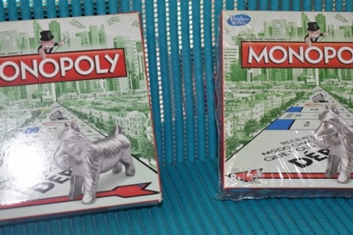 HASBRO monopoly de voyage