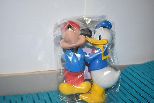Figurines lot mickey et donald