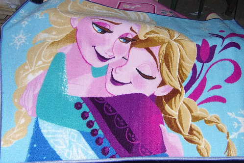Grand tapis la Reine des neiges