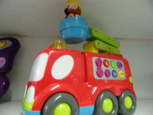 Camion pompier INTERACTIF
