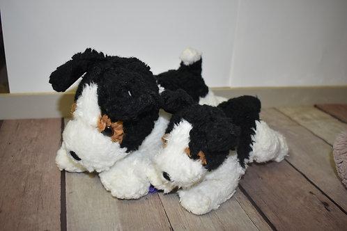 maman chien et son bébé 26 et 19 cm