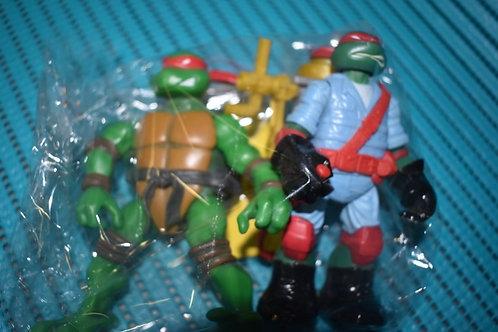 Tortue NINJA 2 figurines